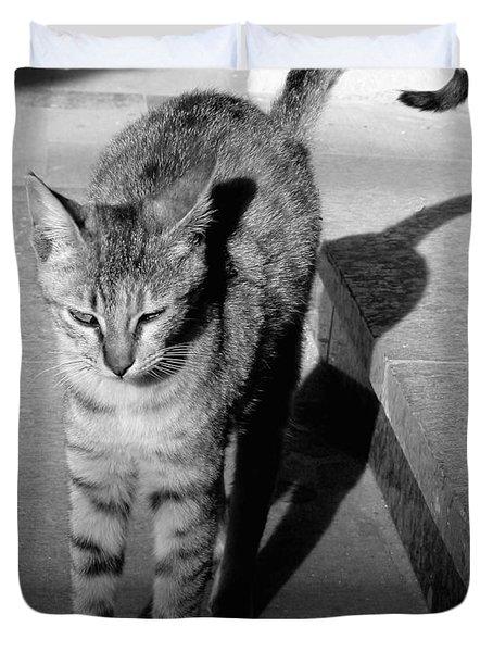 Aswan Cat Duvet Cover