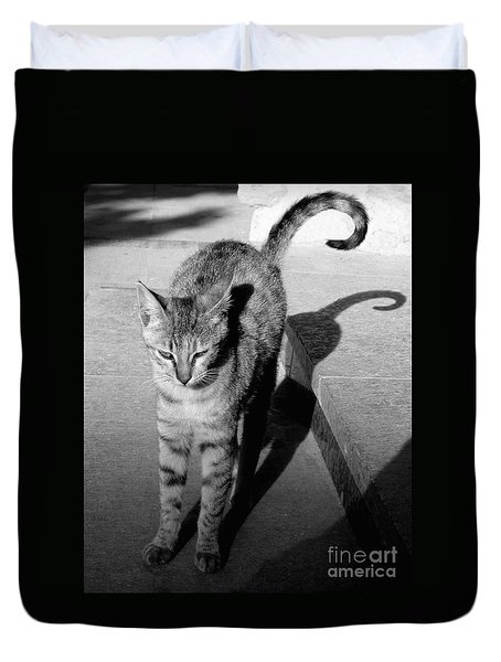 Aswan Cat Duvet Cover