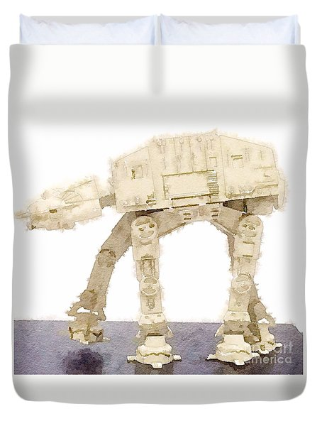 At-at All Terrain Armored Transport Duvet Cover