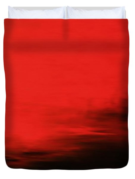 At Dusk Duvet Cover by Kume Bryant