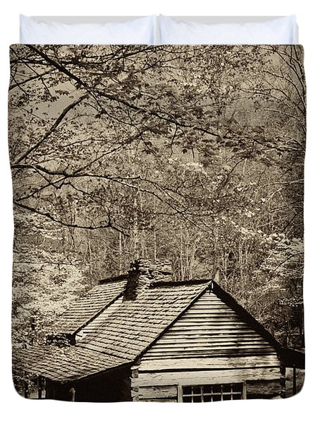 At Home In The Appalachian Mountains Duvet Cover by Paul W Faust -  Impressions of Light
