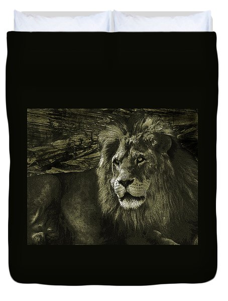 Duvet Cover featuring the photograph At Rest by I'ina Van Lawick