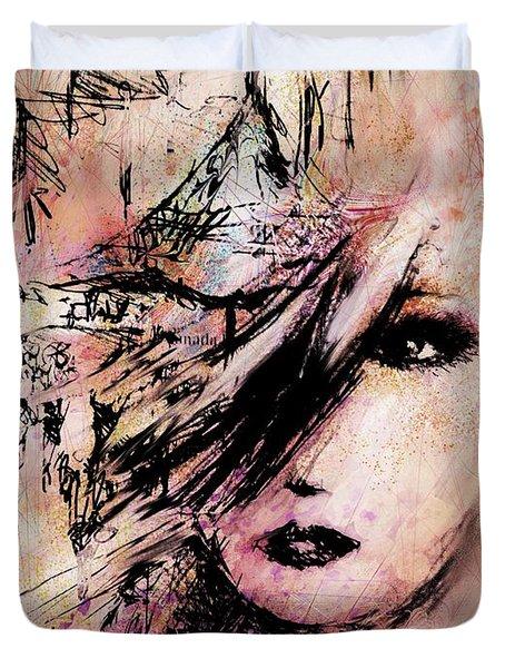 At The Art Festival Duvet Cover by Rachel Christine Nowicki