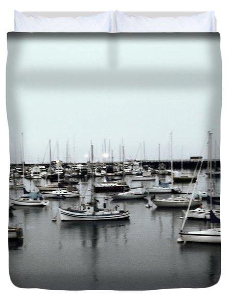 At The Bay  Duvet Cover