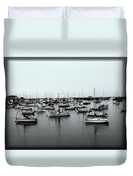 At The Bay  Duvet Cover by Sherry Flaker