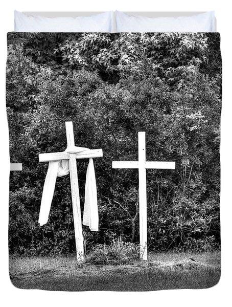 At The Cross Duvet Cover