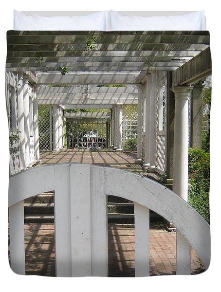 At The Garden Gate Duvet Cover by Melissa McCrann
