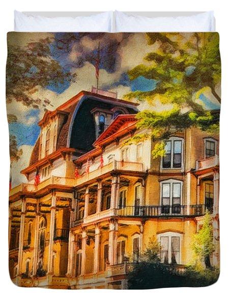 Athenaeum Hotel - Chautauqua Institute Duvet Cover