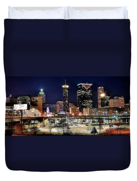 Atlanta Panoramic View Duvet Cover