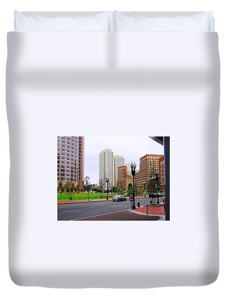 Atlantic Avenue Duvet Cover