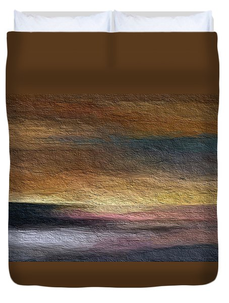 Duvet Cover featuring the digital art Atmosphere by Anthony Fishburne