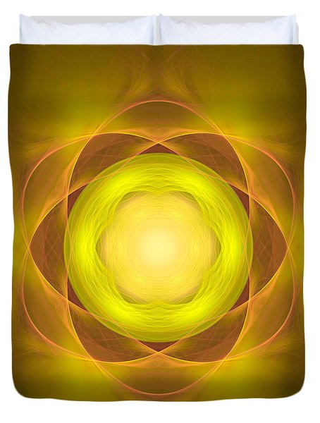Atome-35 Duvet Cover by RochVanh