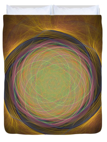 Atome-54 Duvet Cover by RochVanh