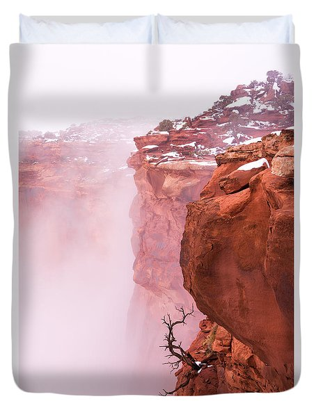 Atop Canyonlands Duvet Cover