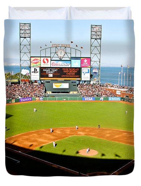 Att Park San Francisco  Duvet Cover