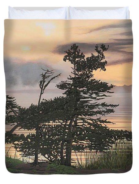 Auburn Evening Duvet Cover