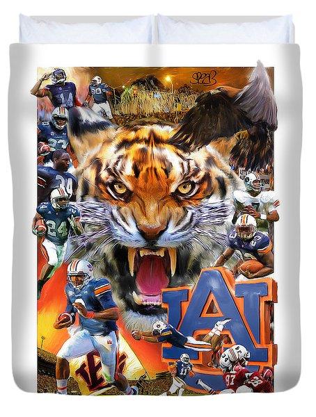 Auburn Tigers Duvet Cover