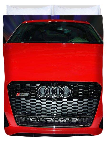 Audi Quattro Rs7 2014 Duvet Cover