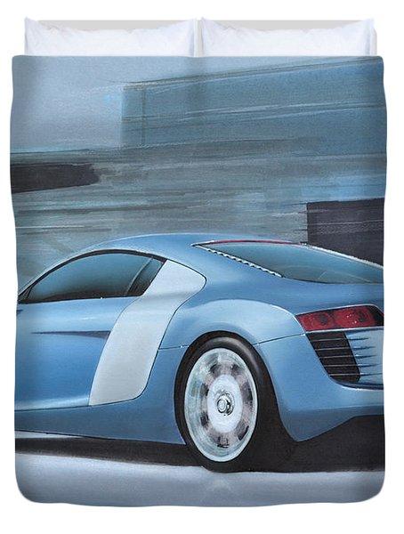 Audi R8 Lemans Concept Duvet Cover by Paul Kuras