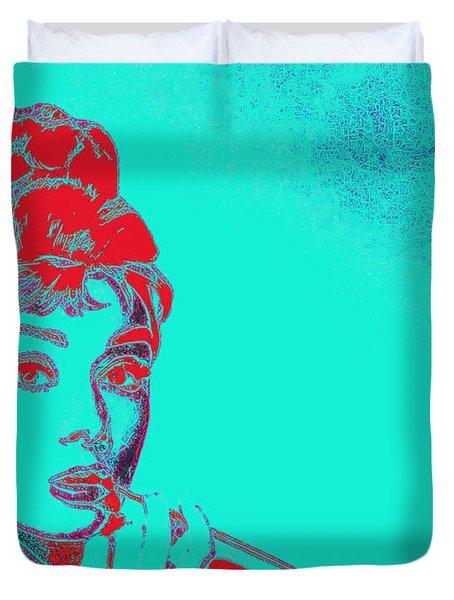Audrey Hepburn 20130330v2p128 Duvet Cover