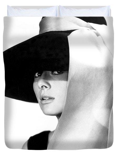 Audrey Hepburn Duvet Cover by Daniel Hagerman