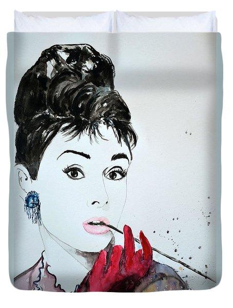 Audrey Hepburn - Original Duvet Cover