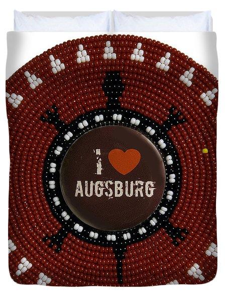 Augsburg 2011 Duvet Cover