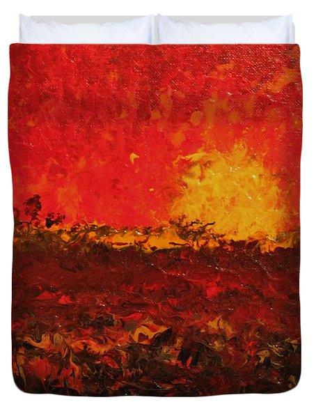 August Fields Duvet Cover