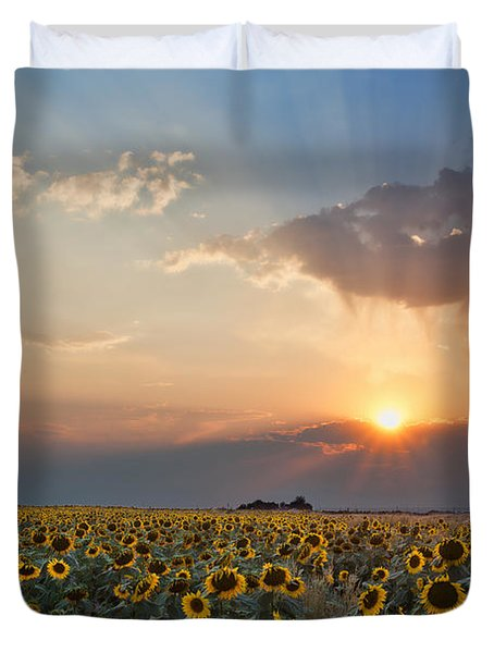 August Dreams Duvet Cover