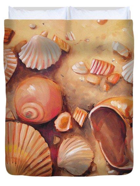August Shells Duvet Cover