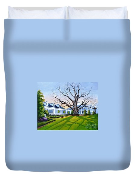 Augusta National Clubhouse Duvet Cover