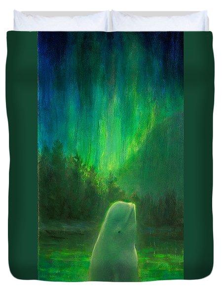Aurora Beluga Duvet Cover