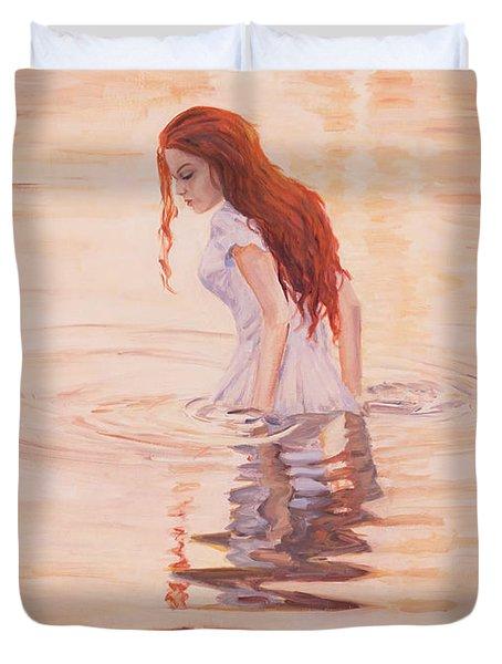 Aurora Duvet Cover by Marco Busoni