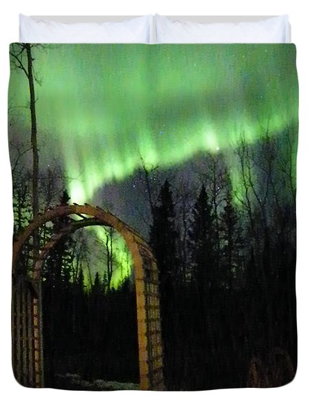 Auroral Arch Duvet Cover