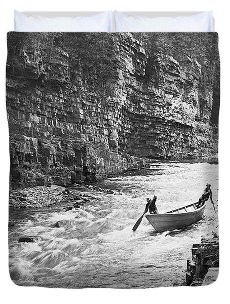 Ausable River Rapids Duvet Cover
