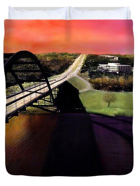 Austin 360 Bridge Duvet Cover