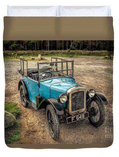 Austin 7 V2 Duvet Cover by Adrian Evans