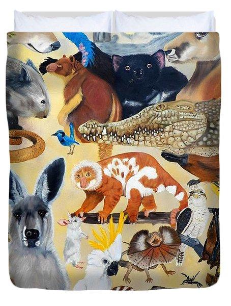 Australia Duvet Cover by Debbie LaFrance