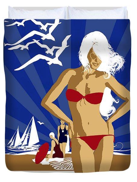 Australia Duvet Cover by Shanina Conway