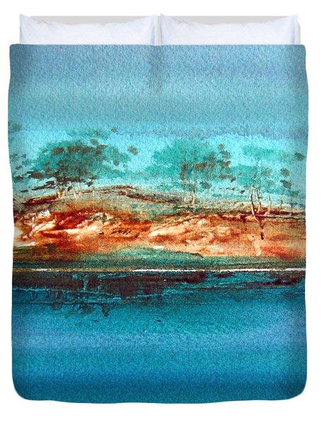 Australian Billabong 3 Natural Duvet Cover