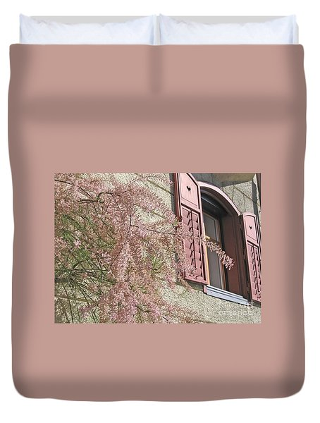 Austrian Spring Duvet Cover by Ann Horn