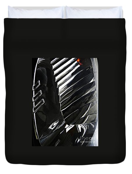 Auto Headlight 69 Duvet Cover by Sarah Loft