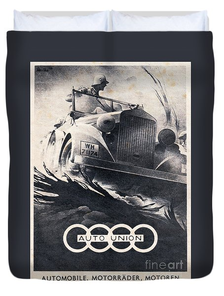 Auto Union Duvet Cover