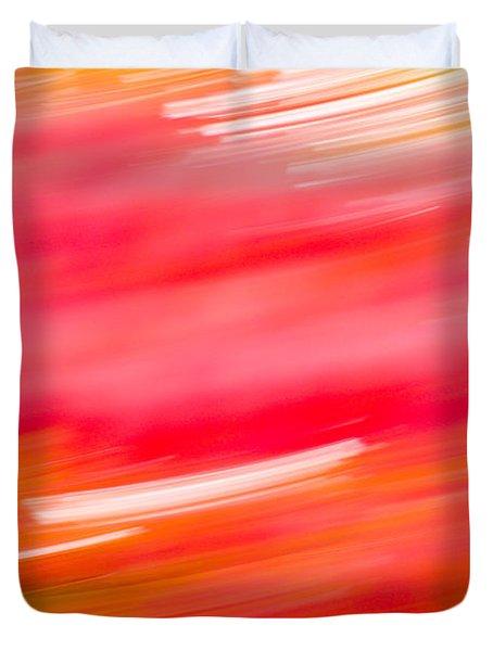 Autumn Abstract Duvet Cover by Shane Holsclaw