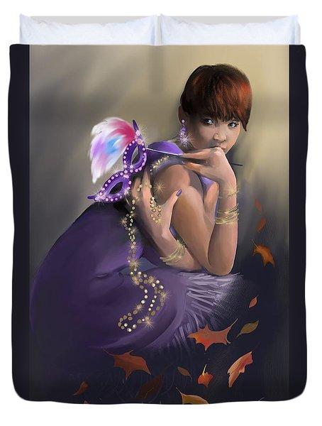 Autumn Allure Duvet Cover
