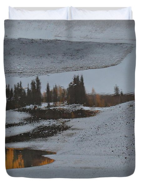 Autumn Arising Duvet Cover by Brian Boyle