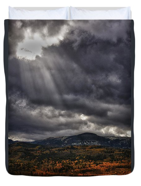 Autumn Beams Duvet Cover