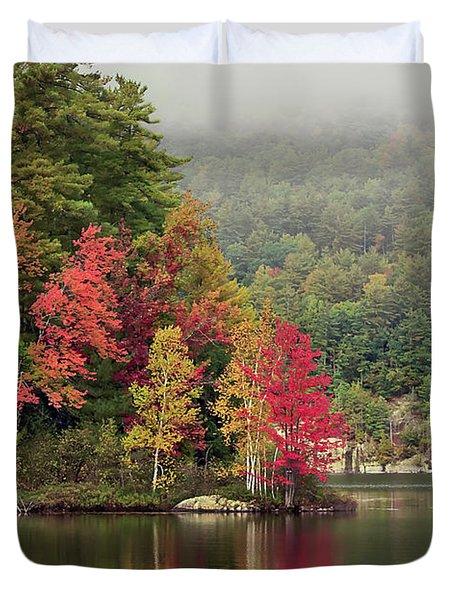 Autumn Breath Duvet Cover