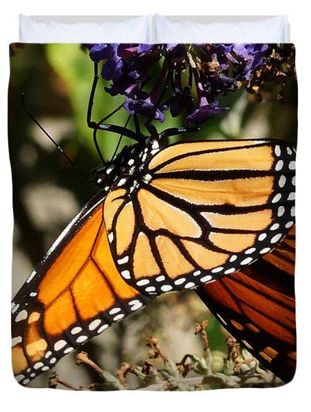 Autumn Butterfly Duvet Cover