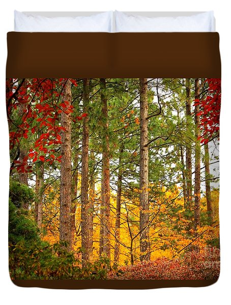 Autumn Canvas Duvet Cover